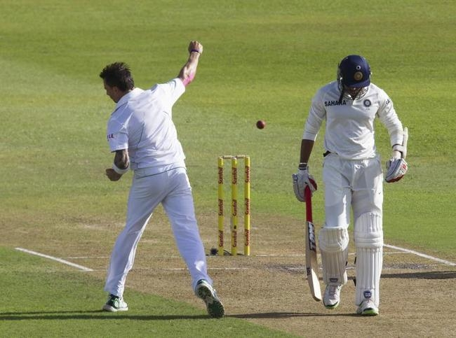 Dale Steyn polished the tail