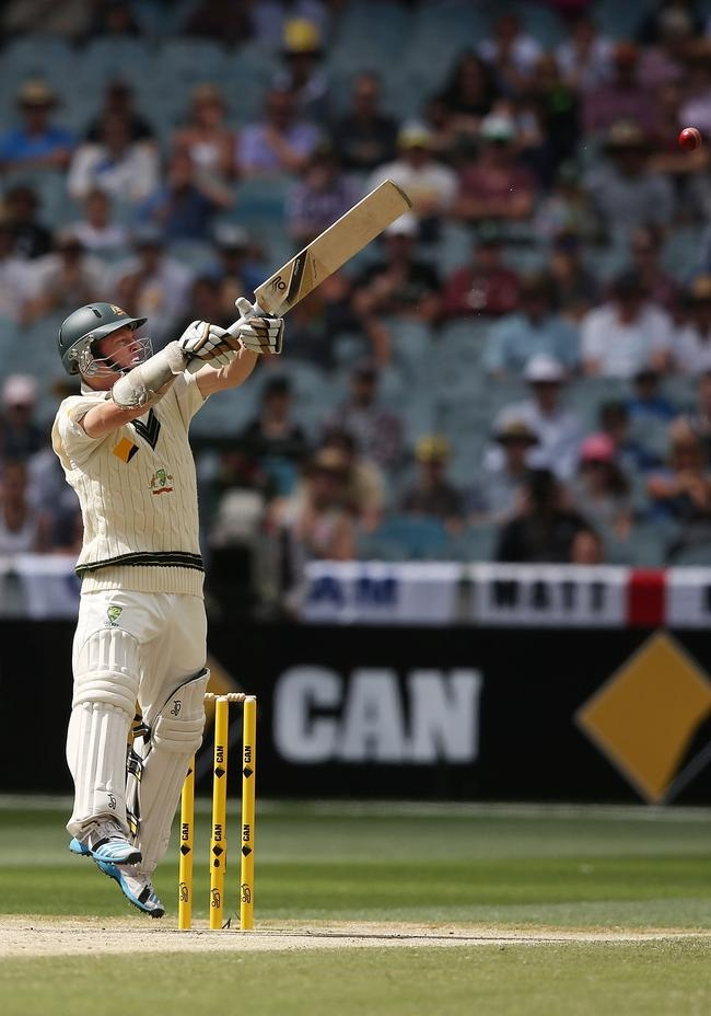 Chris Rogers looked positive