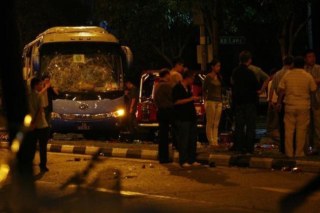 Riots in Singapore