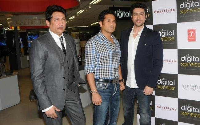 Sachin Tendulkar at the Music Launch of Heartless