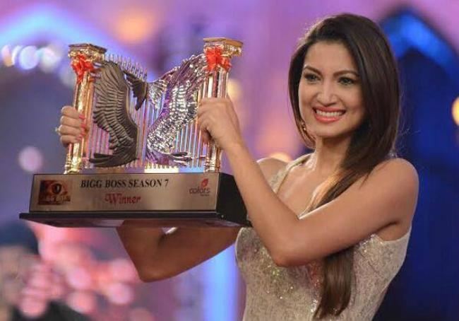 """Gauahar adds,""""I wish this platform helps me gain superstardom. There is a very different feeling when people start calling you a superstar. And that"""