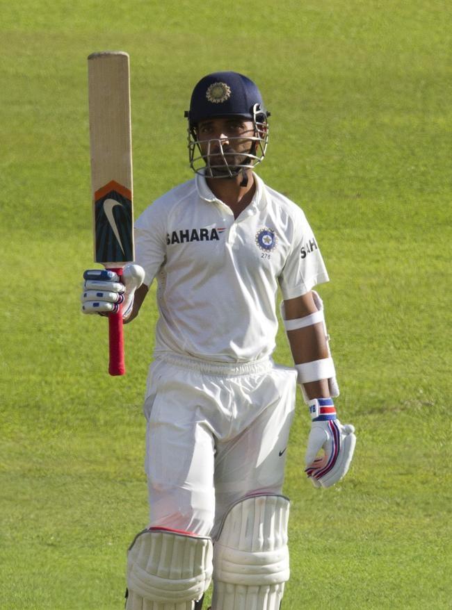 Ajinkya Rahane 51* - his first Test fifty