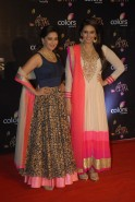 Madhuri Dixit-Nene and Huma Qureshi