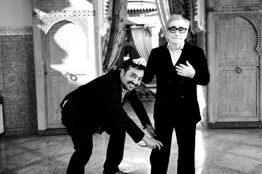 Anurag Kashyap and Martin Scorsese
