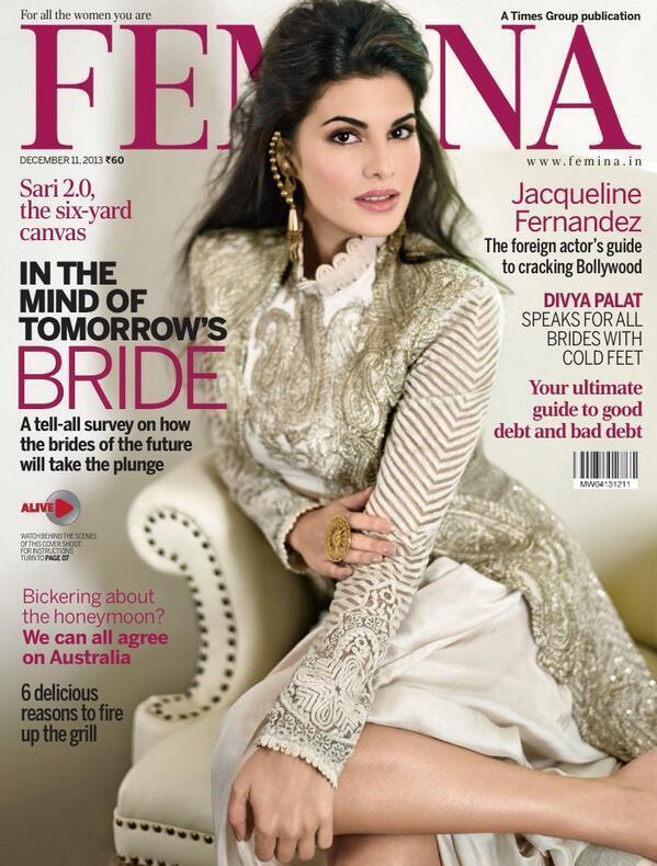 Jacqueline Fernandez for Femina