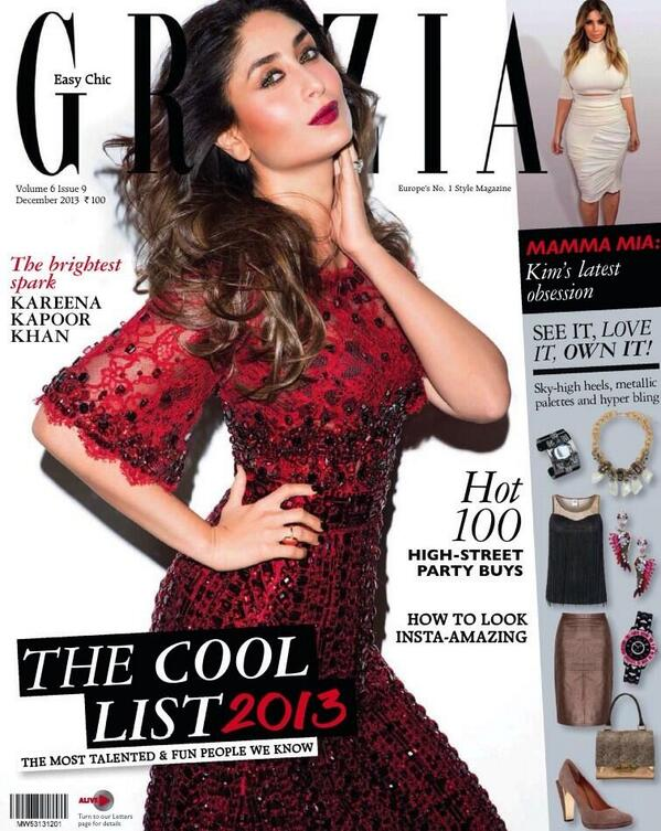 Kareena Kapoor Khan for Grazia