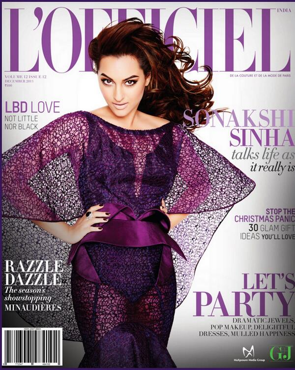 Sonakshi Sinha for L