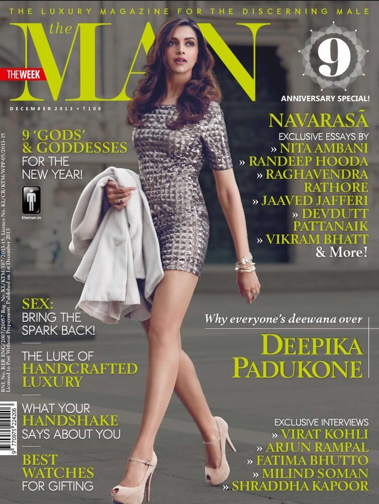 Deepika Padukone for The Man