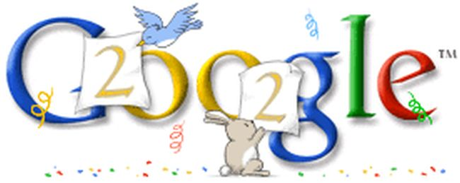 Google New Year Doodle