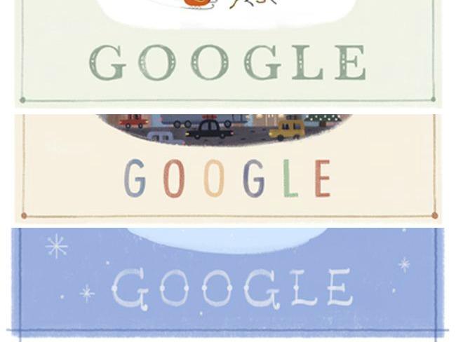 Google Holiday Doodle 2013