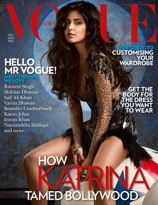 Katrina Kaif for Vogue