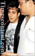 Salman Khan seen during a dinner party, held in Mumbai on November 22, 2007.