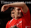 Salman Khan during a celebrity soccer match, in Mumbai on August 15, 2009.