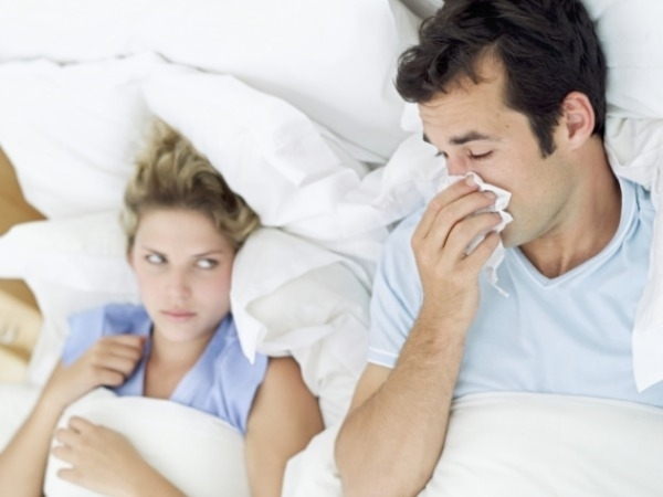 Sinus and Allergies can cause dark circles