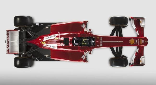 Ferrari Unveils New Formula One Car