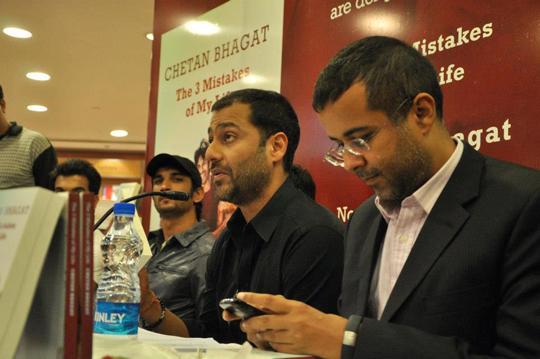 Sushant Singh Rajput, Abhishek Kapoor, Chetan Bhagat