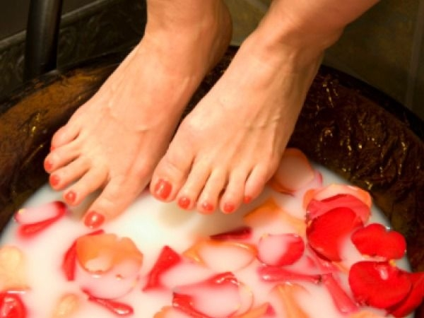 Tip for Soft and Sexy Feet # 2: Do some milk therapy