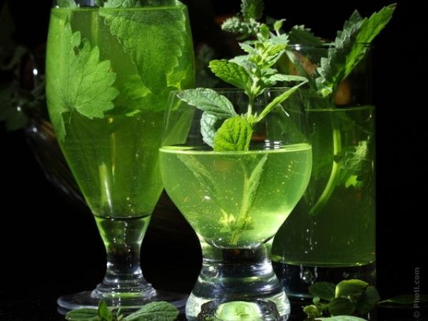 Valentine's Day Drinks Recipe # 11: Jasmine tea mojito