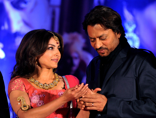 IRRFAN KHAN AND SOHA ALI KHAN