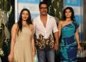 Tanisha, Ajay Devgn and Kajol