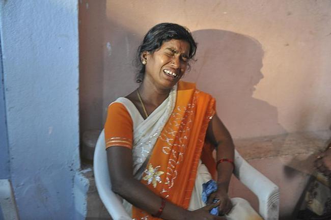 Hyderabad Blasts: Tragic Scenes