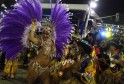 Revellers from Paraiso do Tuiuti samba school perform during the second night of the A Group annual Carnival parade in Rio de Janeiro