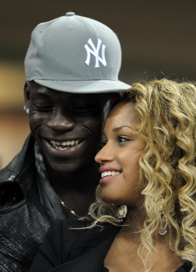 When Mario Balotelli Gets Cozy with Girlfriend