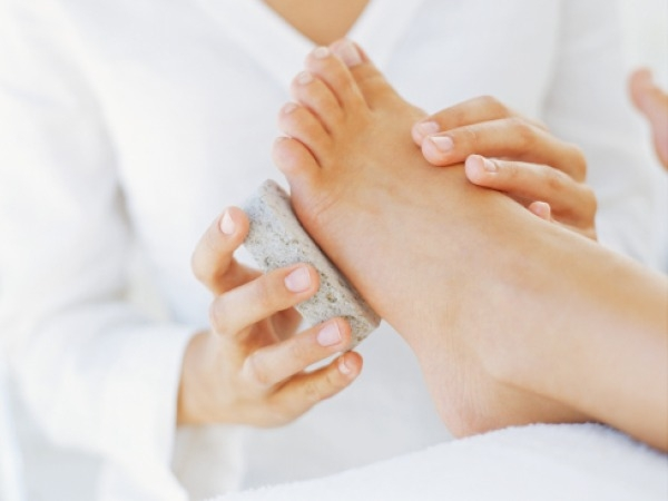 Tip for Soft and Sexy Feet # 4: Get rid of the dead cells with pumice stone