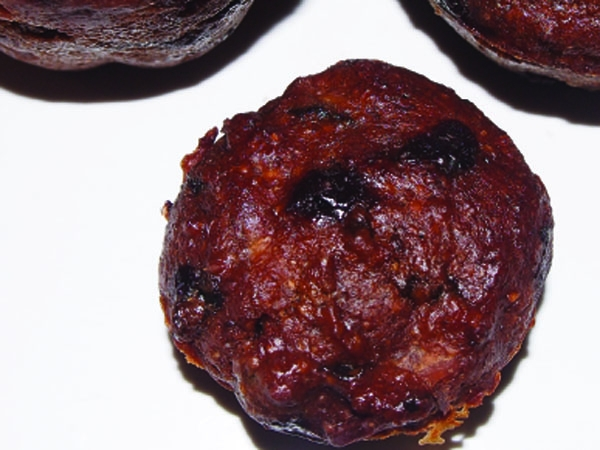 Chocolatey Walnut-Date Muffins