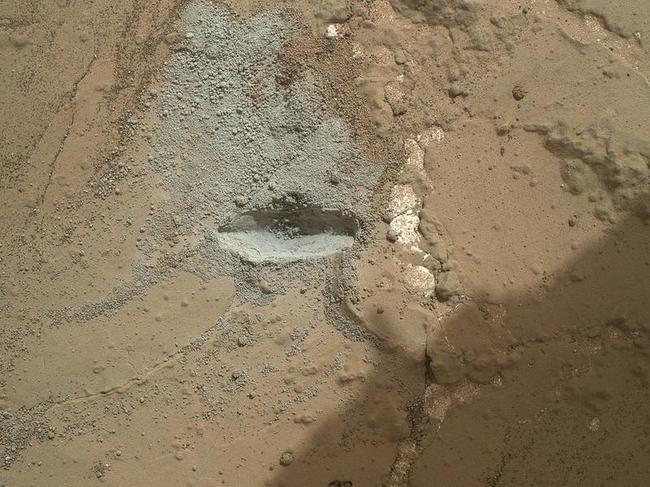 NASA Drills A Hole On Mars