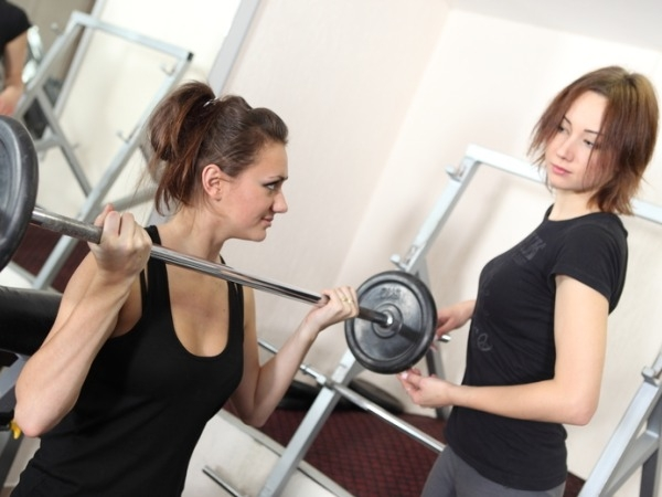 Fitness Tip for Working Woman # 13: Workout with a buddy