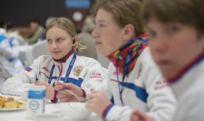 Cute Images from Special Winter Olympics