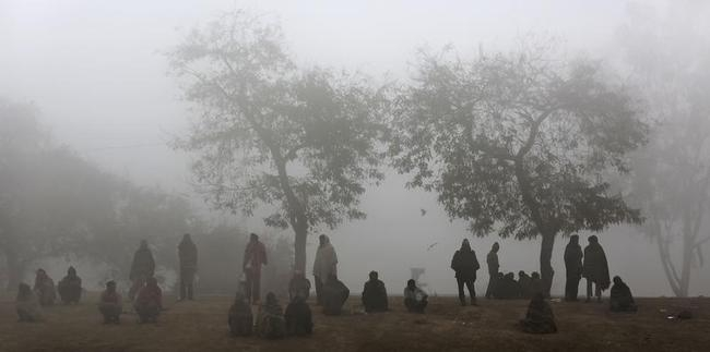 In Pics: Delhi Fogged Out
