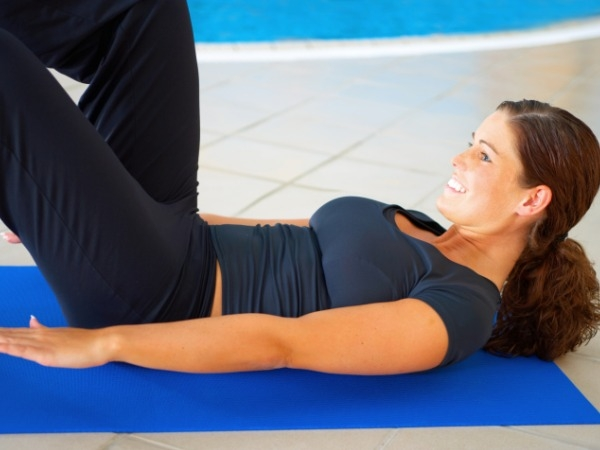 Fitness Tip for Working Woman # 6: Crunches technique