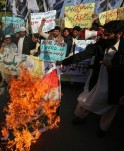 Pakistan & India Protest Against Afzal