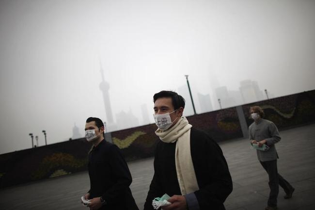 Pollution Engulfs China