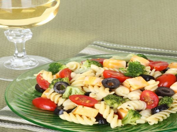 Mixed Vegetable Pasta