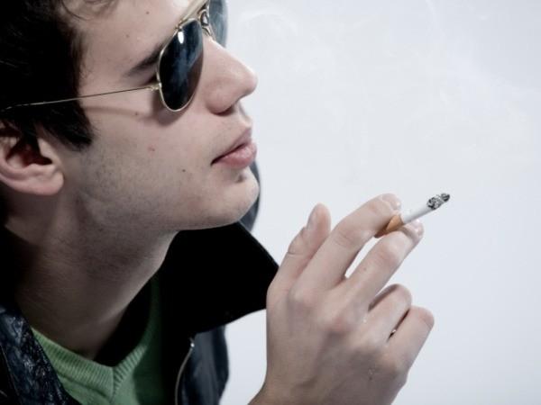 Lower rates of smoking (smoking suppresses appetite)