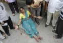Hyderabad Blasts: Tragic Scenes