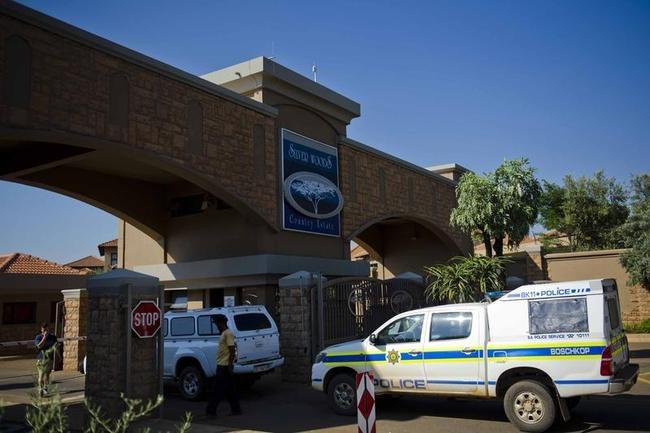 Oscar Pistorius in in Police Custody