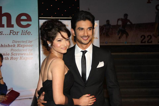 Sushant Singh Rajput with girlfriend Ankita Lookhande
