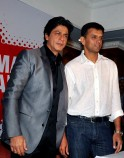 Shah Rukh Khan and Rahul Dravid