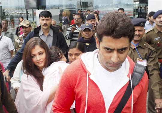 Aishwarya, Abhishek