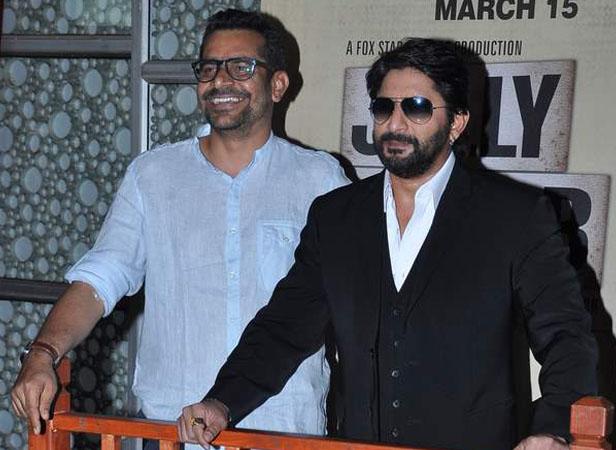 Director Subash Kapoor with Arshad Warsi
