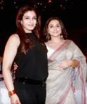 Raveena Tandon and Vidya Balan