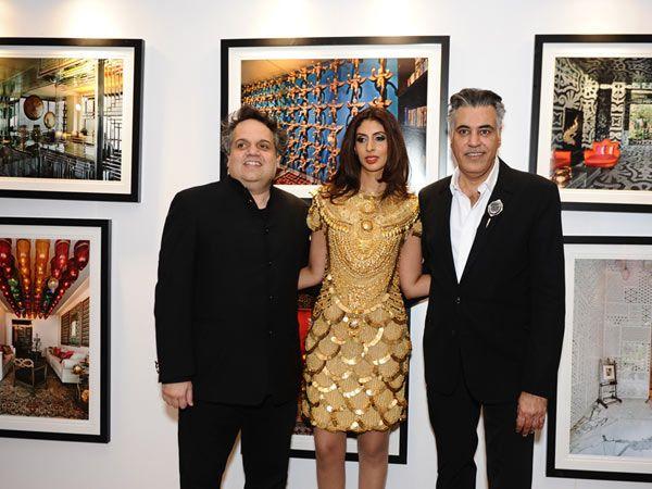 Sandeep Khosla, Shweta Nanda and Abu Jani