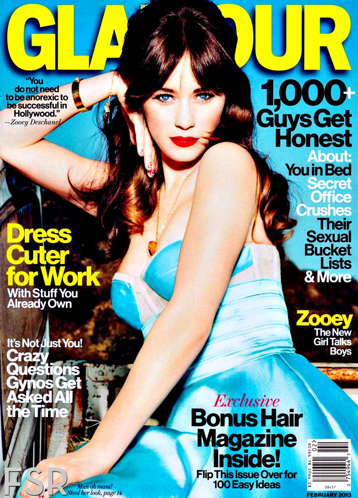 American actress Zooey Deschanel