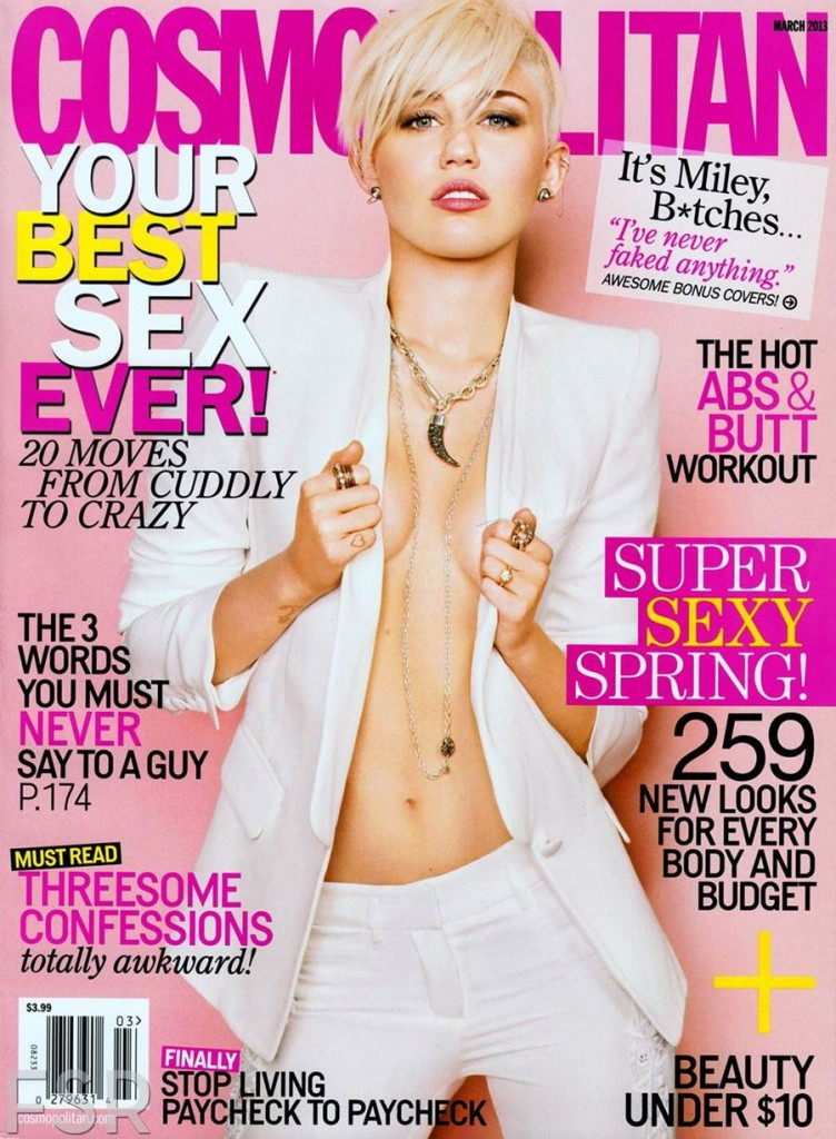 American singer and actress Miley Cyrus