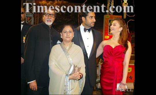 at International Indian Film Academy (IIFA) Awards in Bangkok on June 8, 2008.