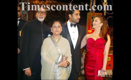 at International Indian Film Academy (IIFA) Awards in Bangkok on June 8, 2008.